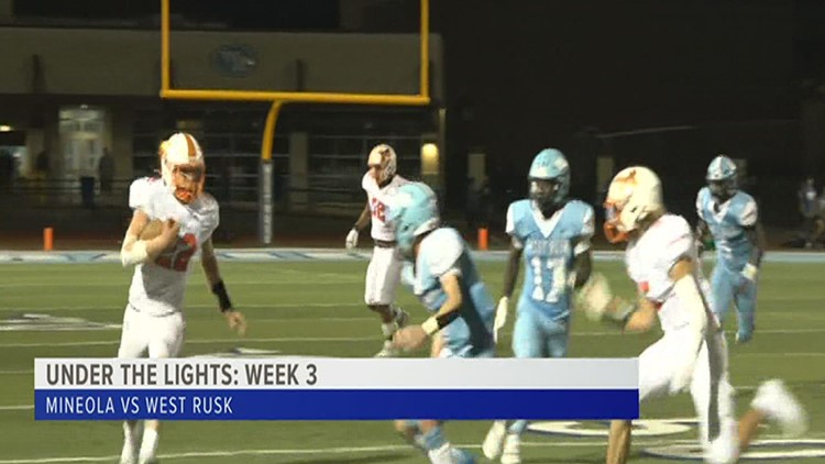 UNDER THE LIGHTS: West Rusk takes down Mineola 24