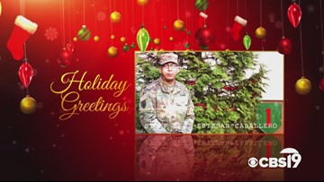 Military Greetings: Staff Sgt. Esteban Caballero