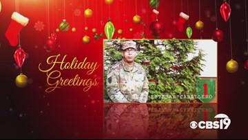 Military Greetings: Staff Sgt. Esteban Caballero