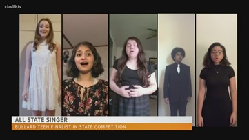 East Texas high school senior named finalist in statewide singing competition
