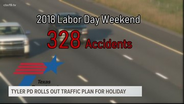 Tyler police releases Labor Day weekend traffic enforcement plan