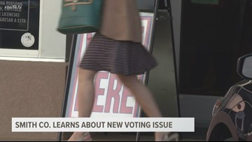 New voting issue brought to Smith County leaders attention