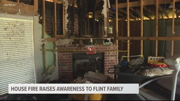 After house struck by lightning, Flint family aims to raise awareness