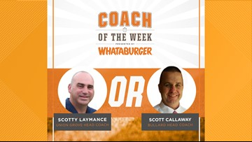 VOTE: Whataburger Coach of the Week - Scotty Laymance vs. Scott Callaway