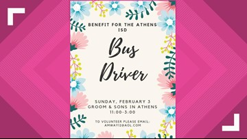 Community shows Athens bus driver love