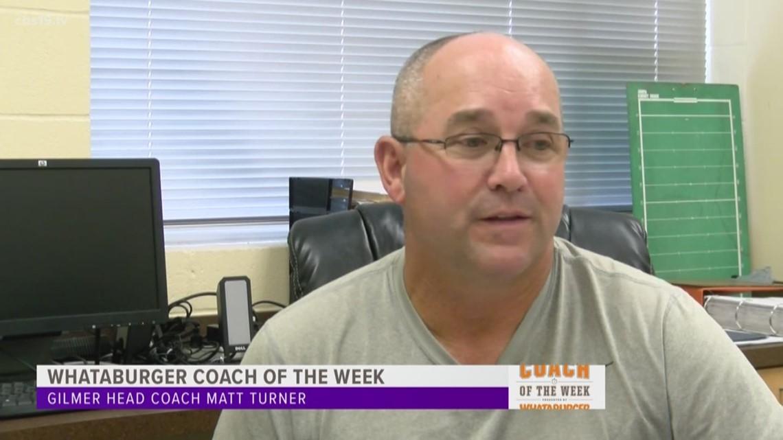 Whataburger Coach of the Week: Matt Turner