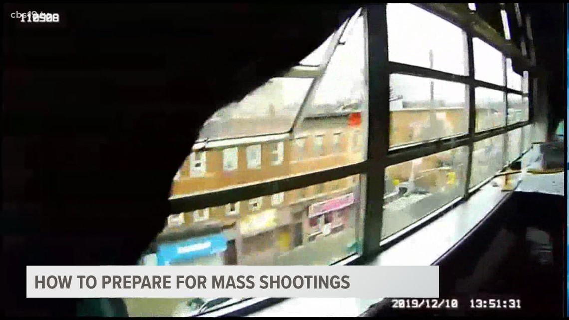 How to prepare for mass shootings