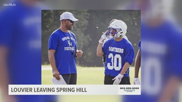 Jonny Louvier leaving Spring Hill after 1 season