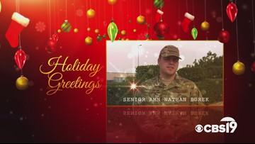 Military Greetings: Senior Airman Nathan Burek