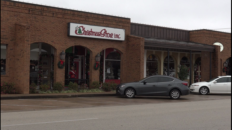 The Christmas Store, located at 102 E 8th Street in Tyler (KYTX)