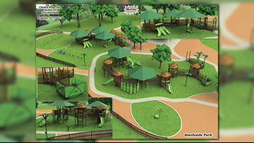 CITY: Groundbreaking ceremony scheduled for inclusive playground at Tyler's Southside Park