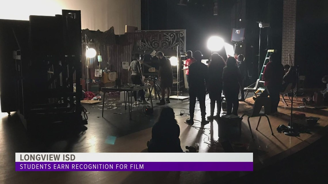 Longview ISD students earn UIL recognition in film competition