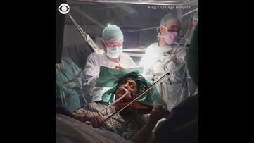 WATCH: Violinist plays through brain surgery