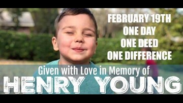 'Love Henry Day' | One day, one deed, one difference