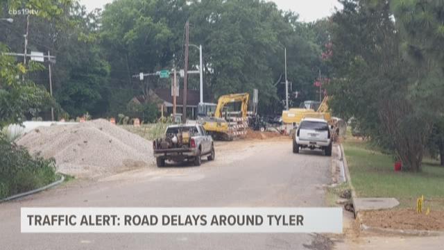Traffic Alert: Alternative routes