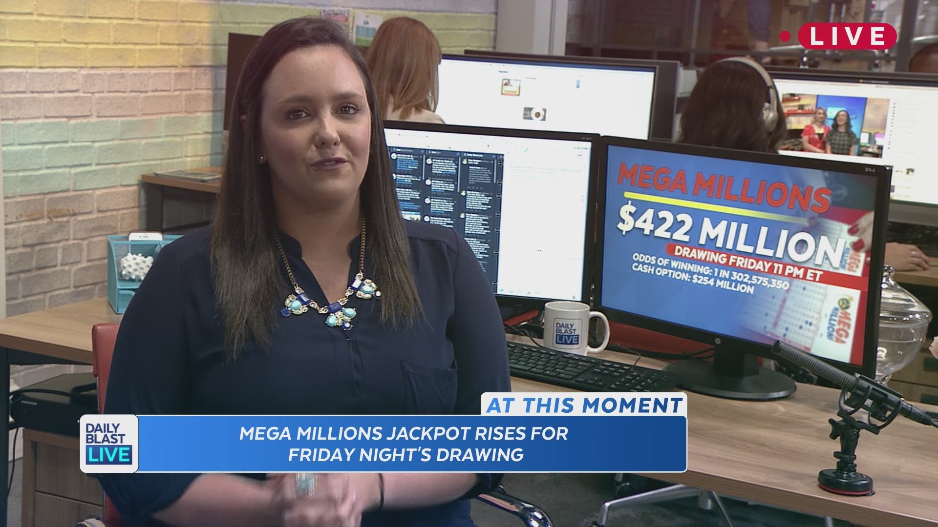 Mega Millions Up To 422m Sixth Largest Ever For Drawing On Friday Cbs19 Tv