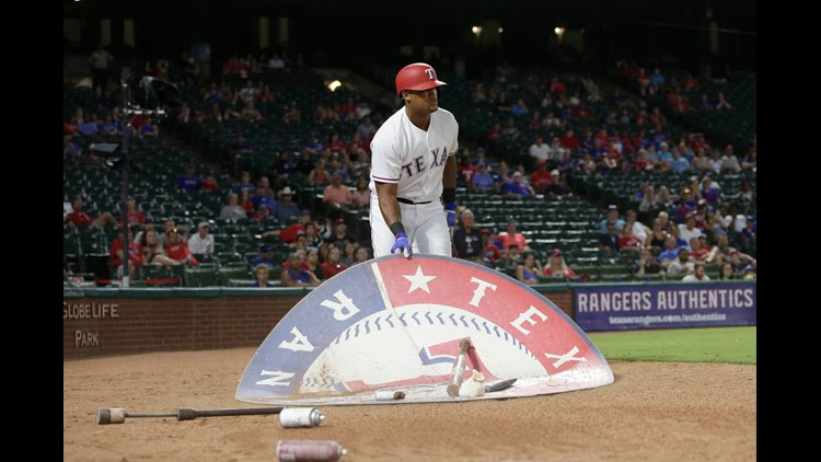 July 26: Texas Rangers third baseman Adrian Beltre provided one of the funniest moments of the MLB season when he moved the batting cirlce to him, rather than go to it as instructed by the umpire. Unfortunately for Beltre, he got ejected.