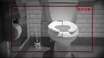 Hidden cameras found in coffee chain's restroom