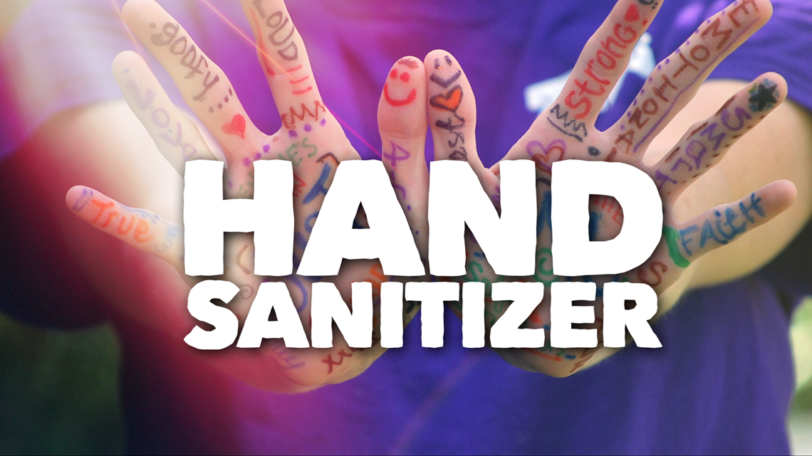 VERIFY:  Should you send your kiddos to school with hand sanitizer?