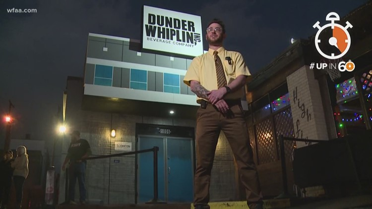 Dallas' new 'The Office' pop-up bar perfect for fans of bears, beets and Battlestar Galactica