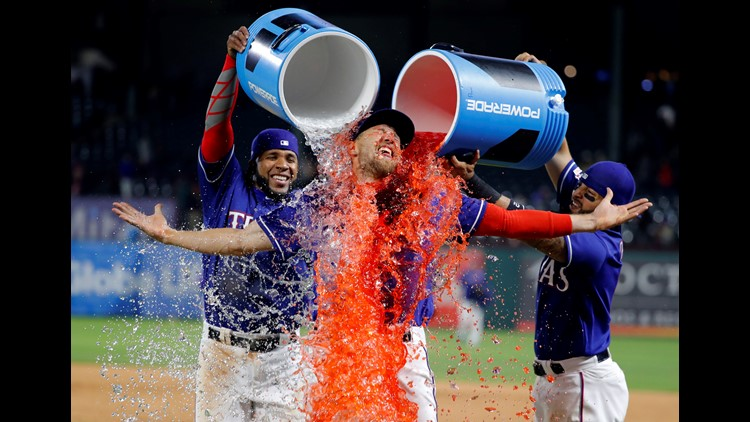 Texas Rangers surprise in season's opening week