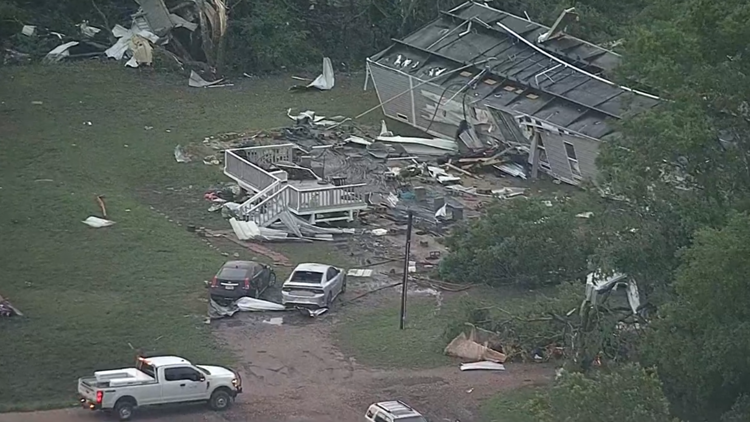 Here's what North Texas looks like the morning after severe weather rolled through