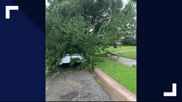 DFW Storm damage, photos and videos, flight info, power outage numbers