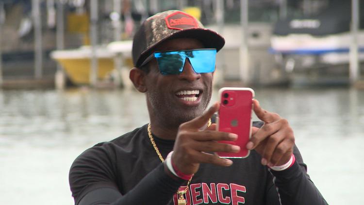 Deion Sanders claims Bassmaster Celebrity Fishing title at Lake Lewisville