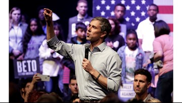 Beto O'Rourke nearly sells out counter-rally in Grand Prairie
