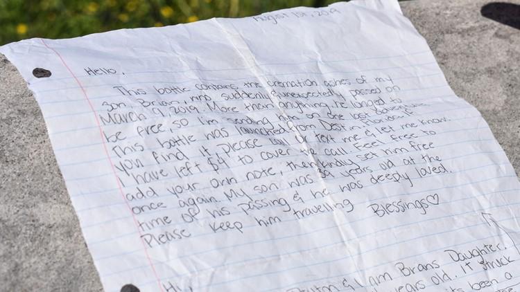 Peyton's letter