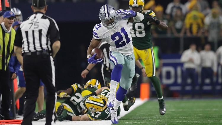 Man suing running back Ezekiel Elliott, Dallas Cowboys over 2017 car crash