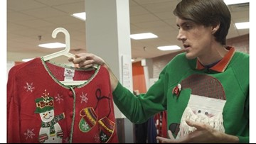 Almost 10 years later, selling authentic ugly Christmas sweaters is still a brilliant idea for Dallas man