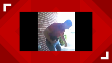 Duck, duck, thief: Red Oak Police searching for package thief who was carrying a duck