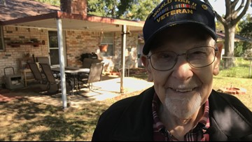 Home Depot surprises 92-year-old Texas WWII veteran with home renovations