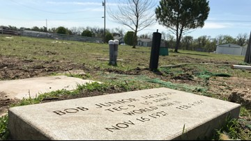 Veteran headstone mystery solved in North Texas