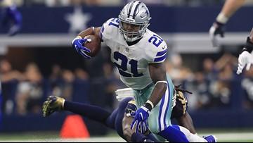 Cowboys draft two backs to lighten Elliott's load