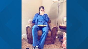 This viral photo of a North Texas nurse is a love letter to nurses everywhere