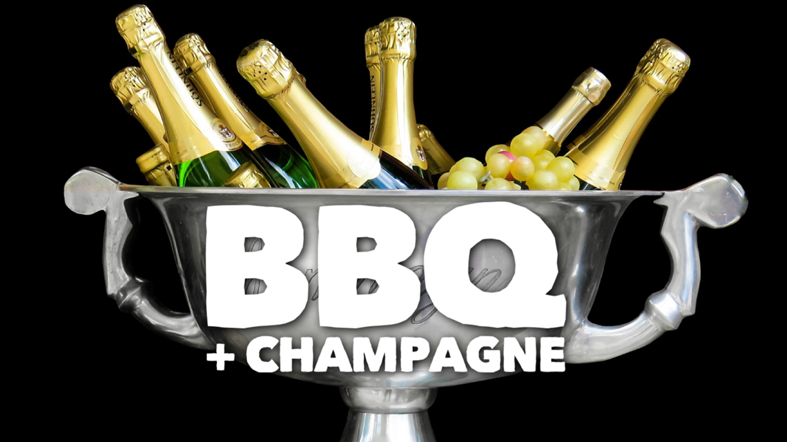 Verify: Move over sweet tea!  Is champagne the best drink with Texas BBQ?