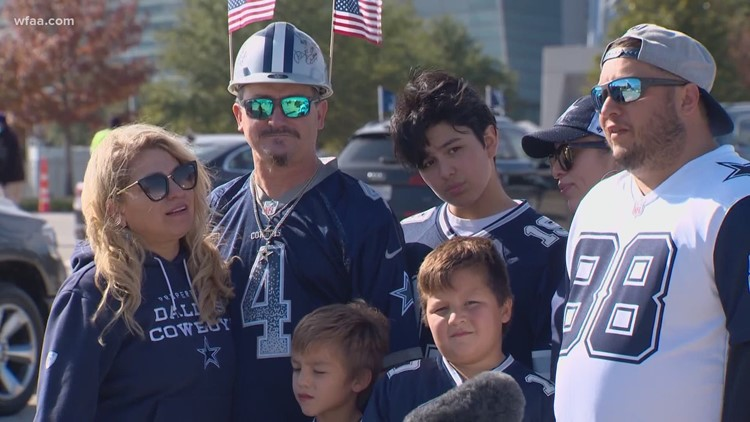 Despite limited capacity at AT&T Stadium, diehard Cowboys fans are still thankful for tailgating tradition