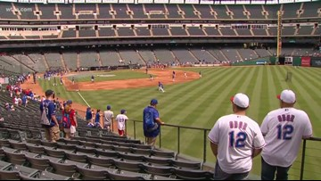 Only 80 games left: Fans share their memories on Globe Life Park's final Opening Day