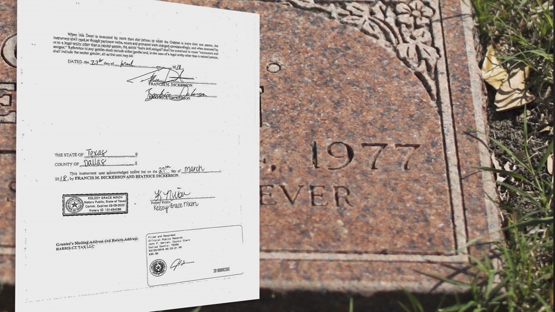 Dirty deeds: An alleged real estate scam from beyond the grave