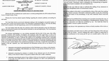 Gag order issued in Atatiana Jefferson case