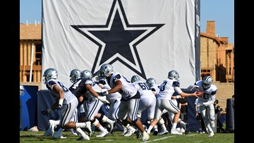 Phones already ring for Cowboys' OL, DL depth