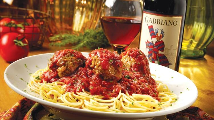 Spaghetti Warehouse meatballs
