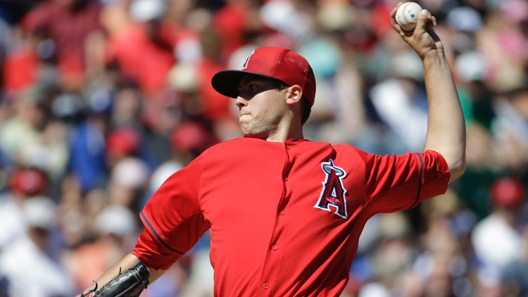 Monday night's Texas Rangers game canceled after Angels pitcher dies