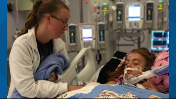 'Send your prayers': Girl in medically-induced coma after contracting brain-eating amoeba infection