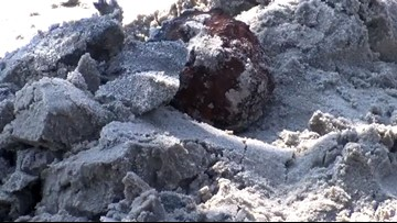 Cannonballs from the Civil-War-Era Wash Up on Folly Beach in SC After Dorian