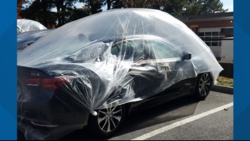 Why in the World is My Car Inside a Plastic Bubble?