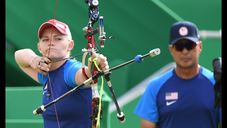 East Texan Mackenzie Brown places 4th in Tokyo Olympics archery competition