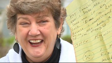 'I'm really sorry...' Stolen car returned to owner with apology note